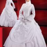 2013 ün Tesettürlü Gelinlik Modelleri (14)